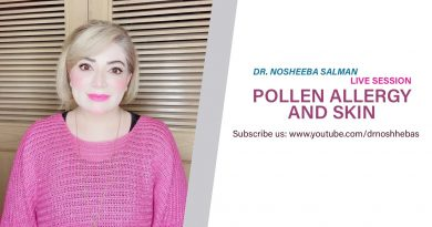 Pollen Allergy and Skin problems